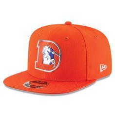 49c4bbcae02 Denver Broncos New Era Kickoff Baycik 9FIFTY Snapback Adjustable Hat -  Orange