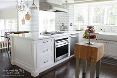 So Much Better With Age, White Kitchen Ideas via Refresh Restyle