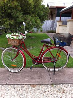 Scout the retro bicycle