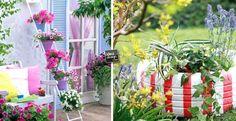16 magnifiche idee fai da te per decorare il giardino! Lasciatevi ispirare…
