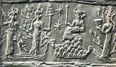 "Anu1. In Sumerian mythology, Anu (also An; from Sumerian  An, ""sky, heaven"") was a sky-god, the god of heaven, lord of constellations, king of gods, spirits and demons, and dwelt in the highest heavenly regions."