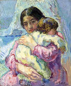 """ Nikolai Aleksandrovich Tarkhov (1871 - 1930) Maternitè """