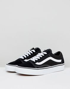 e1a11b4c257f04 Vans Classic Old Skool sneakers in black and white