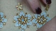 Tutorial orecchini snowflakes