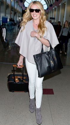 81 Celebrity-Inspired Outfits to Wear on a Plane - Cat Deeley from #InStyle
