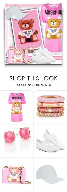 """""""So Cute: Mini Bags!"""" by asia-12 ❤ liked on Polyvore featuring Moschino, Adolfo Courrier, Ippolita, HUGO and minibags"""