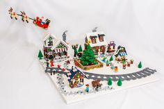 Winter Village Diorama 2017 | by Ale Photographer