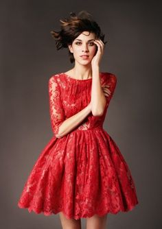 Gorgeous red lace