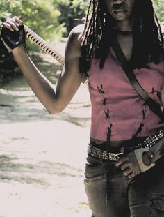 """""""People with nothing to hide don't usually feel the need to say so."""" Michonne"""