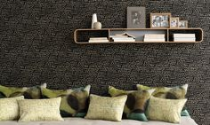 Elitis Culte Wallcovering  Raffia aspect weave, pasted on non woven backing