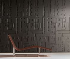 Wandverkleidung B&N relief geometrisch