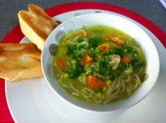 Chicken & Vegetable Noodle Soup