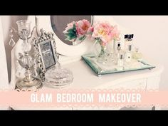 New Bedroom Makeover! | Dollybowbow #ad - YouTube