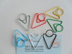 Lead Arrow shaped paper clips