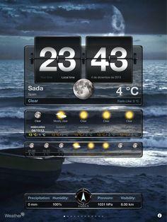 Frío frío el tiempo #CobhPub #Sada #weather #tiempo #Spain #cold