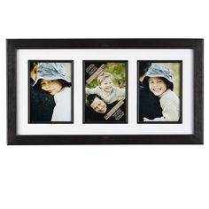 Studio Décor® Portrait Collection 3-Opening Collage Frame with Mat
