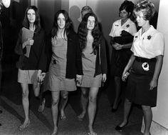 Leslie Van Houten,Susan Atkins & Patricia Krenwinkle