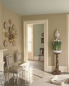 perfect mix of grey and brown - Martha's famous drabware shade