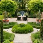 Pretty Garden with Outdoor Rooms | Traditional Home