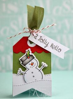 25 Days of Christmas Tags - Day 24