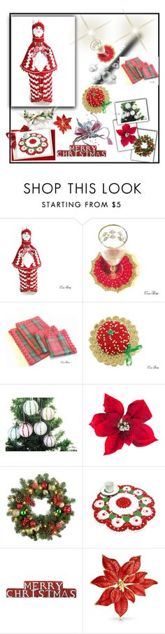 """""""CreArtebyPatty Christmas Collage"""" by starshinebeads ❤ liked on Polyvore featuring interior, interiors, interior design, home, home decor, interior decorating, Amara, Improvements and Bling Jewelry"""
