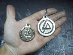 Brass pendant -linkin park tribute by Simon Pejar