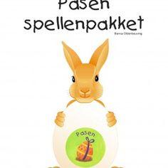 Een leuk spellenpakket in het thema Pasen, met allerlei leuke materialen voor het Paasfeest (en de lessen in de aanloop er naar toe!) - Kleuteruniversiteit