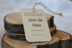 Hand made and printed save the date cards. Ideal to inform your family and friends about your wedding. Can be made in bulk to order. for 20 cards Save The Date Cards, Beautiful Hands, Decorating Your Home, Shabby Chic, Place Card Holders, Printed, Friends, Shop, How To Make