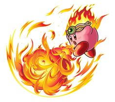 Fire Kirby. Epic.