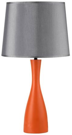 White And Uncertain Gray 28 Inch H Ovo Table Lamp