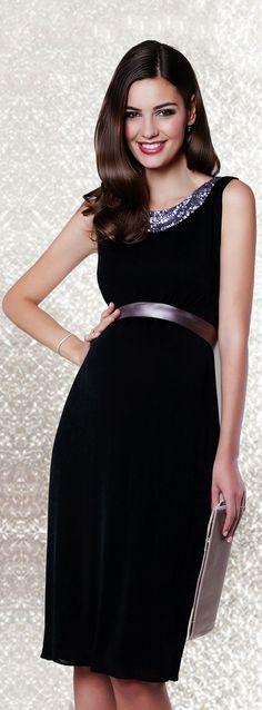 Elegante Kleider für den ultimativen Wow-Effekt. Hier unser Lana Kleid mit tollem Pailletten-Besatz