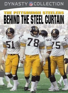 NFL Dynasty Collection: The Pittsburgh Steelers   Behind The Steel Curtain  [DVD]