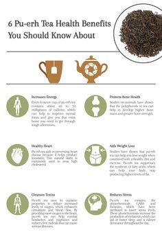 8 Pu-erh Tea Health Benefits You Should Know About - Cup & Leaf White Tea Benefits, Herbal Tea Benefits, Health Benefits, Health Tips, Herbal Teas, Pu Erh Tee, Healing Herbs, How To Increase Energy, Organic Recipes