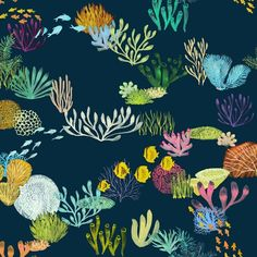 I'm thrilled to make the top 100 entries for the Spoonflower and Bucketfeet 'Oceans' and conservation competition. This is 'Life in the Great Barrier Reef'. Our beautiful and unique Great Barrier Reef needs attention to preserve the life of this amazing ecosystem. #spoonflower #bucketfeet #oceans #contest #painting #gouache #print #textile #design #sea #water #marine #sealife #fish #coral #greatbarrierreef #seaweed #conservation #environment #saveourseas by ceciliamokart…