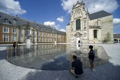 Averbode-Abbey-Square-by-OMGEVING-landscape-architecture-02 « Landscape Architecture Works | Landezine