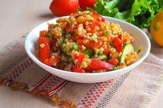 Bulgursaláta zöldségekkel  Recept képpel - Mindmegette.hu - Receptek