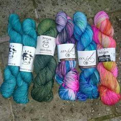 My yarn haul from Houston Fiber Fest