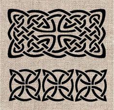 Celtic Pattern Stencil Set