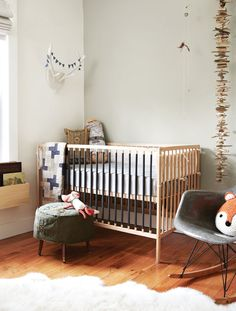 more neutral and grey nursery