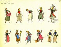 Mary Blair: Cinderella | Marc David models