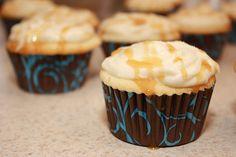 Sea Salted Caramel Cupcakes