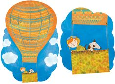 Ballooning by Sally Townsend at Draw24