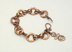 NEW item in My Etsy Shop - healing copper bracelet by EvAtelier1, $26.50