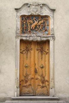 Ornate #Door in #Gdansk