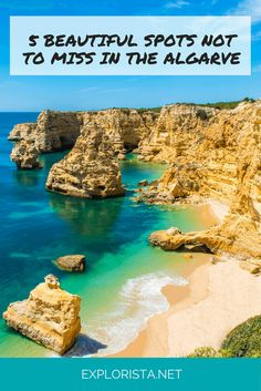 5 gorgeous spots not to miss in the Algarve, Portugal! Travel tips and photos via Explorista