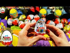 Unboxing magic Surprise eggs Маша и Медведь Kinder Surprise Mickey Mouse Disney Pixar Cars 2 - YouTube