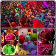 Holi is a spring festival also known as festival of colours. It's an ancient Hindu religious festival. It's celebrated the symbolic victory of good over evil.