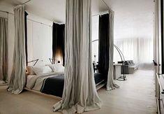 dividere camera con letto a baldacchino - Cerca con Google