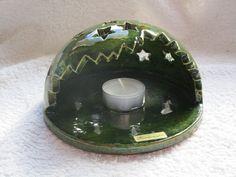 Kerzen & Beleuchtung - Windlicht Sterne handgetöpfert / Weihnachten - ein Designerstück von Toepfer-Bude bei DaWanda