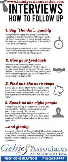 best interview tips for visa interview